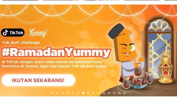 Kontes RamadanYummy di TikTok