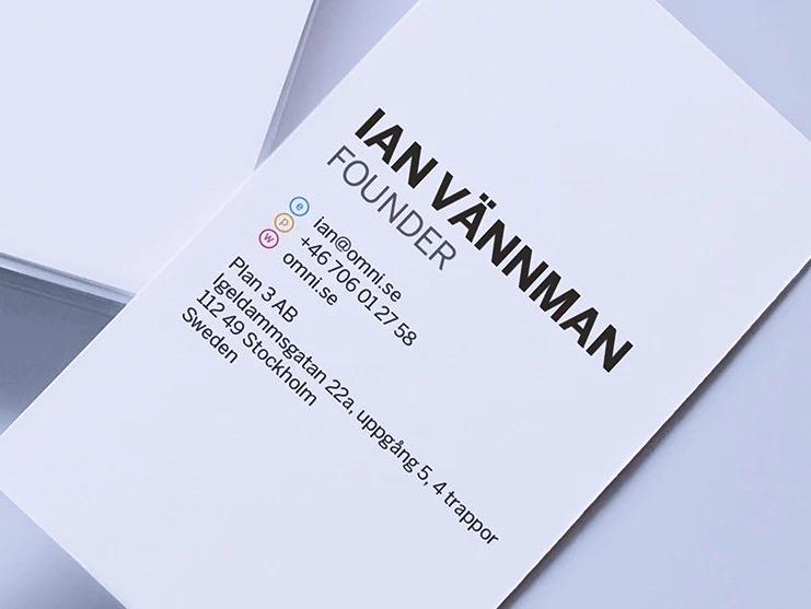 contoh kartu nama bisnis