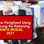 dapat uang gratis langsung masuk rekening 2021