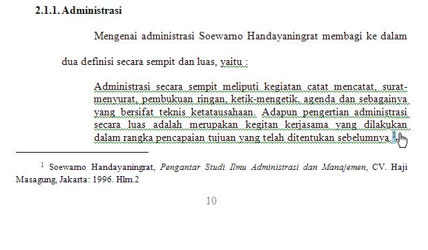 contoh footnote