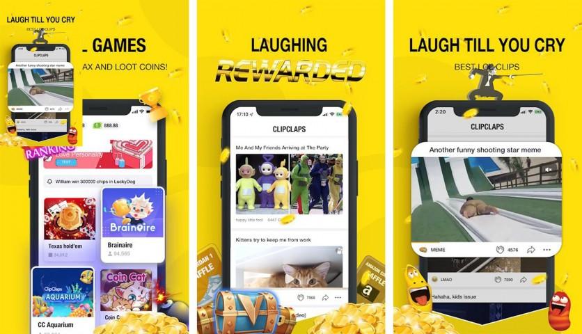 CLIPCLAPS,Aplikasi Yang Menghasilkan Uang Ke DANA