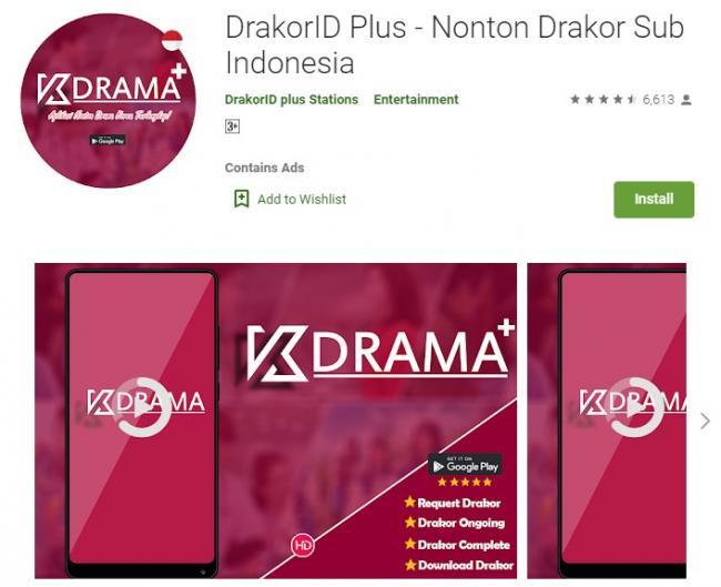 aplikasi nonton drama korea dapat uang dibayar
